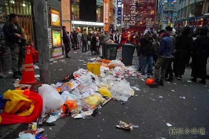 涩谷区长直言明年想收费了!万圣节狂欢到掀货车、教记者搭讪技巧、口吐白沫-8.jpg
