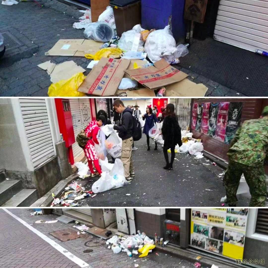 涩谷区长直言明年想收费了!万圣节狂欢到掀货车、教记者搭讪技巧、口吐白沫-10.jpg